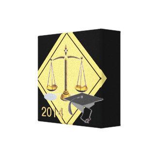 Clase de la graduación de 2014 impresiones en lienzo estiradas