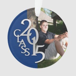 Clase de la graduación de 2015 azules y de foto de