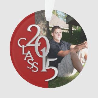 Clase de la graduación de 2015 rojos y de foto de