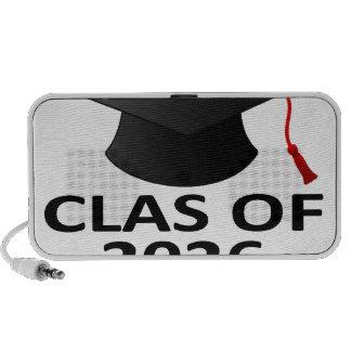 Clase de la graduación de 2026 T-Shirt png Altavoces De Viajar