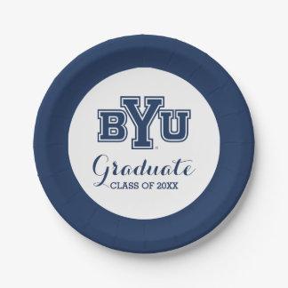 Clase de la graduación de BYU de Platos De Papel