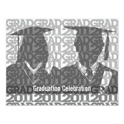Clase de la graduación de la teja 2011 del vestido comunicados personalizados