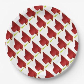 Clase de la graduación de placas de papel del platos de papel