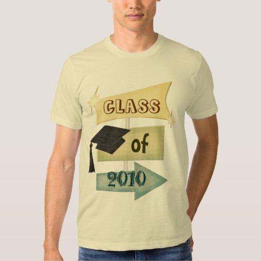 Clase de la graduación del individuo retro del año playera