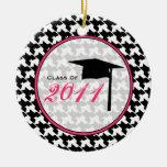 Clase de la graduación del ornamento 2011 de Hound Ornaments Para Arbol De Navidad