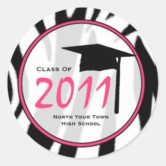 Clase de la graduación del pegatina 2011 del