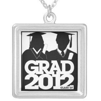 Clase de la graduación del vestido cuadrado 7 del  joyeria personalizada