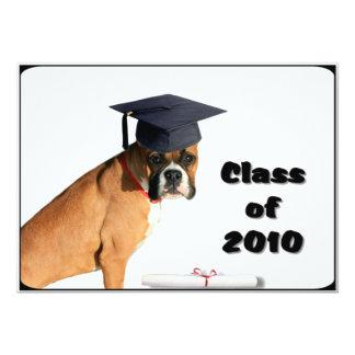 Clase de la invitación 2010 de Gradutation del