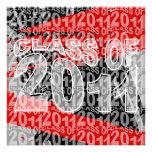 Clase de la invitación 2011 de la graduación TXD29