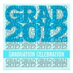 Clase de la invitación 2012 de la fiesta de gradua
