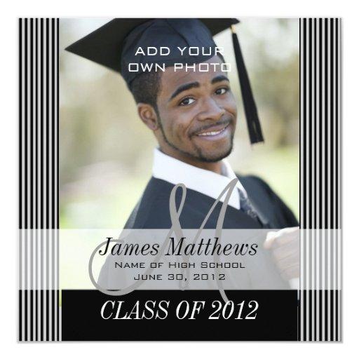 Clase de la invitación 2012 de la graduación de es invitación 13,3 cm x 13,3cm