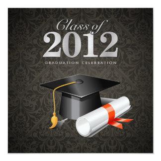 Clase de la invitación 2012 de la graduación del