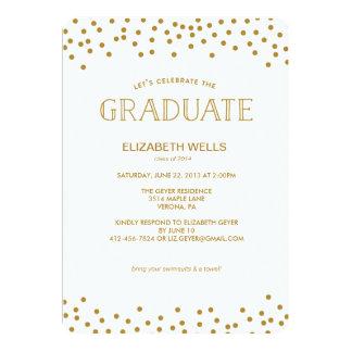 Clase de la invitación 2014 de la graduación -