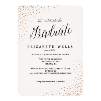 Clase de la invitación 2015 de la graduación -