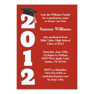 Clase de la invitación de la fiesta de graduación