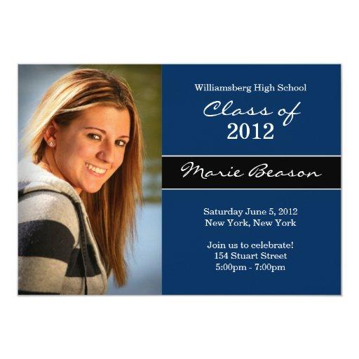 Clase de la invitación de la graduación de 2011