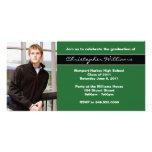 Clase de la invitación de la graduación de 2011 tarjetas fotograficas personalizadas