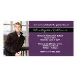 Clase de la invitación de la graduación de 2011 tarjeta personal