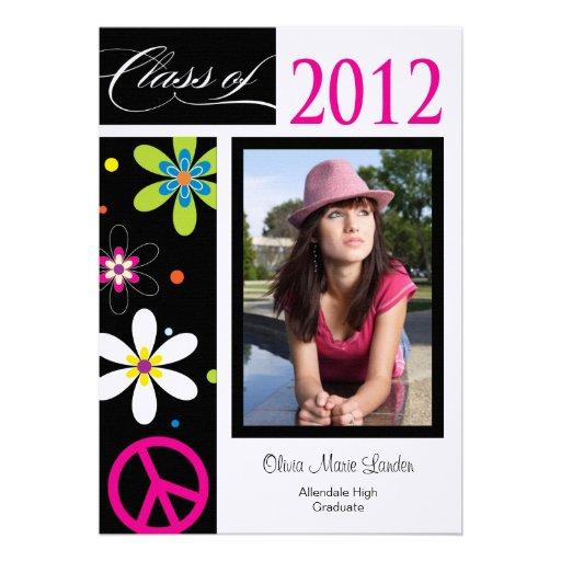 Clase de la invitación de la graduación de 2012