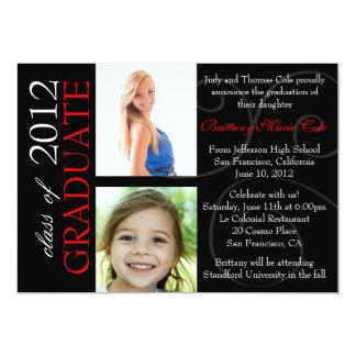 Clase de la invitación graduada 2012