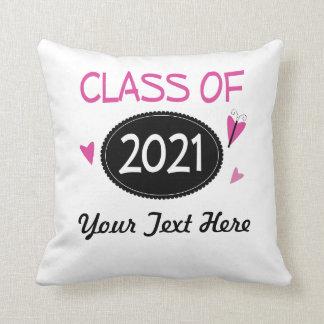 Clase de la mariposa graduada 2021 almohadas