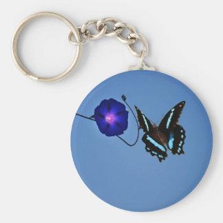 Clase de la mariposa llaveros personalizados