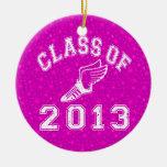 Clase de la pista 2013 ornamentos de navidad