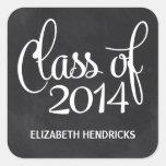 Clase de la pizarra de la graduación 2014 etiquetas