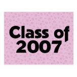 Clase de la púrpura 2007 postal