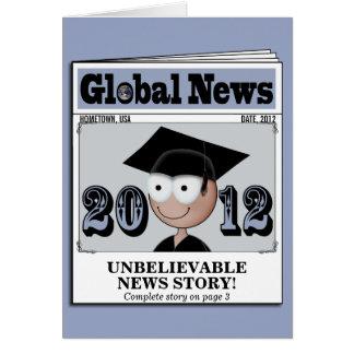 Clase de la tarjeta 2012 de la invitación de la gr