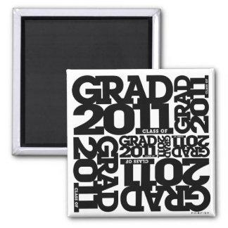 Clase de las graduaciones del negro 2011 del imán