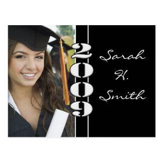 Clase de las invitaciones 2010 de la graduación tarjeta postal
