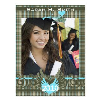 Clase de las invitaciones 2010 de la graduación postales