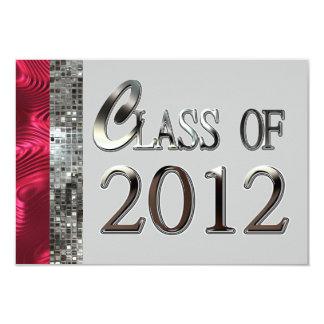 Clase de las invitaciones 2012 del brillo de la comunicados personales