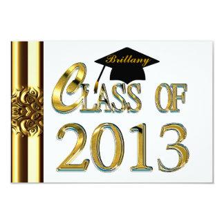 Clase de las invitaciones 2013 de la fiesta de anuncio personalizado