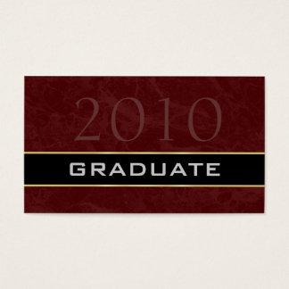 Clase de las tarjetas de presentación 2010 de la tarjetas de visita