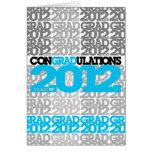 clase de los conGRADulations de tarjeta de 2012 az