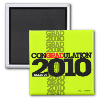 clase de los conGRADulations del imán verde 2010