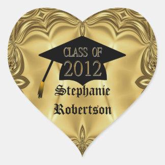 Clase de los pegatinas 2012 de la graduación del c