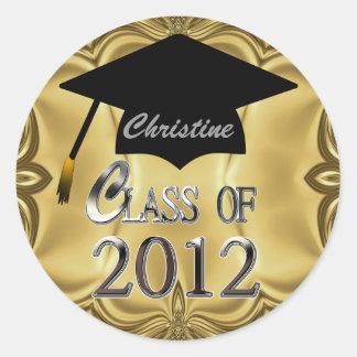 Clase de los pegatinas 2012 de la graduación del o