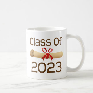 Clase de los regalos 2023 de la graduación taza de café