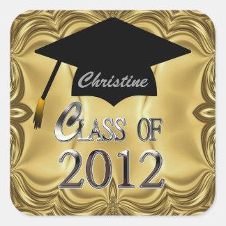 Clase de los sellos 2012 de la graduación del oro