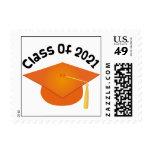 Clase de los sellos 2021 del gorra de la graduació