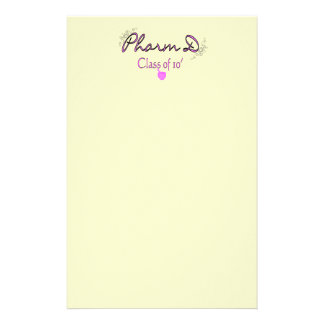 Clase de Pharm D del ROSA 2010 Personalized Stationery