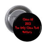 Clase de Pin 2013 de la graduación