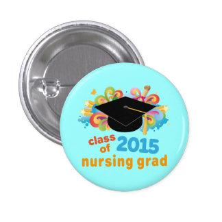 Clase de Pin graduado 2015 del oficio de enfermera