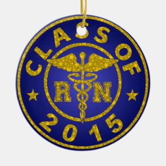 Clase de RN 2015 Adorno Navideño Redondo De Cerámica