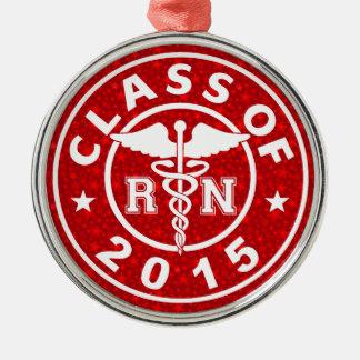 Clase de RN 2015 Adorno Navideño Redondo De Metal