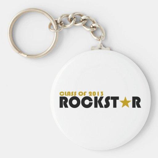 Clase de Rockstar 2013 Llaveros Personalizados