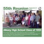 Clase de secundaria de Albany de 1959 - 55.a Postales